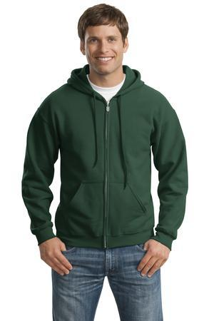 Gildan Heavy Blend Full Zip Hooded Sweatshirt. 18600