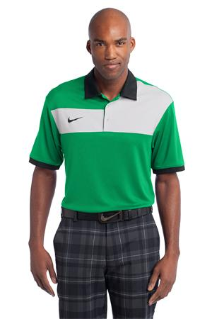 Nike Golf Dri FIT Sport Colorblock Polo. 527806