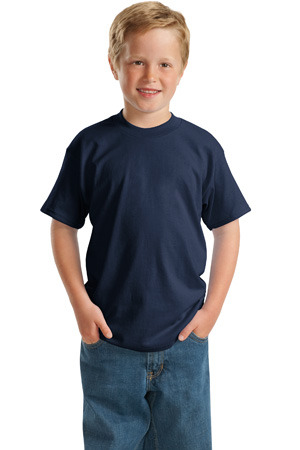 Hanes; Youth ComfortSoft; Heavyweight 100% Cotton T Shirt. 5480