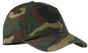 ; Port Authority; Camouflage Cap. C851
