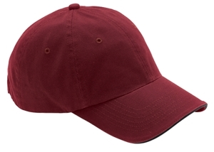 ; Port Authority; Poly Bamboo Sandwich Bill Cap. C873