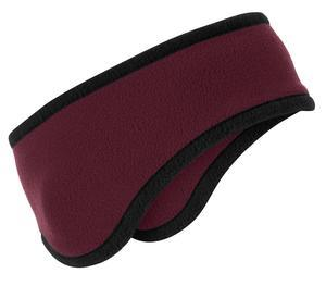 Port Authority; Two Color Fleece Headband. C916