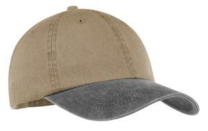 ; Port & Company; Two Tone Pigment Dyed Cap. CP83