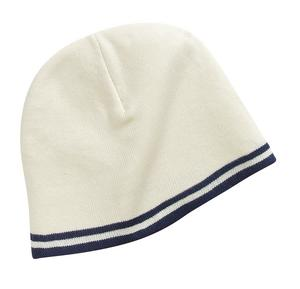 ; Port & Company; Fine Knit Skull Cap with Stripes. CP93