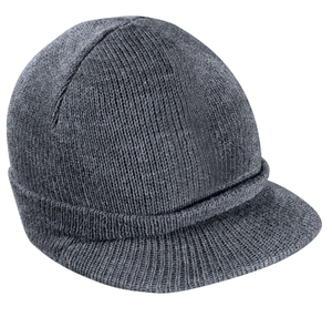 ; District; Knit Hat with Bill. DT603