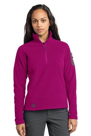 First Ascent; Ladies Cloud Layer; Fleece 1/4 Zip Pullover. FA701