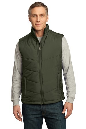 Port Authority; Puffy Vest. J709