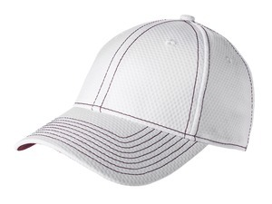 New Era; Performance Mesh Contrast Stitch Cap. NE106