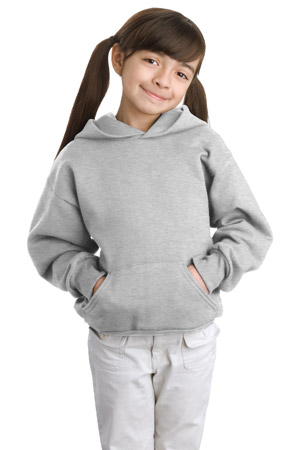 Hanes; Youth Comfortblend EcoSmart Pullover Hooded Sweatshirt. P470