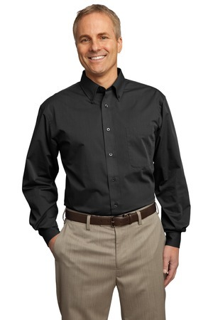 Port Authority; Tonal Pattern Easy Care Shirt. S613