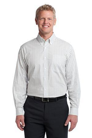Port Authority; Tattersall Easy Care Shirt. S642