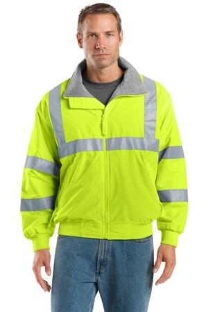 Port Authority; Safety Challenger Jacket with Reflective Taping. SRJ754