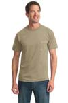 JERZEES; Heavyweight Blend 50/50 Cotton/Poly Pocket T Shirt. 29MP