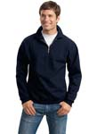 ; JERZEES; SUPER SWEATS; 1/4 Zip Sweatshirt with Cadet Collar. 4528M