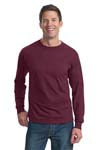 Fruit of the Loom; Heavy Cotton HD 100% Cotton Long Sleeve T Shirt. 4930