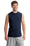 ; JERZEES; HiDensi T  100% Cotton Sleeveless T Shirt. 49M