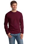 ; Hanes; Beefy T; 100% Cotton Long Sleeve T Shirt. 5186
