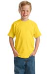 ; Hanes Youth ComfortBlend; 50/50 Cotton/Poly T Shirt. 5370
