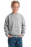 ; JERZEES; Youth NuBlend; Crewneck Sweatshirt. 562B