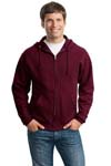 ; JERZEES; NuBlend; Full Zip Hooded Sweatshirt. 993M