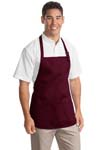 ; Port Authority; Medium Length Apron with Pouch Pockets. A510