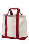 ; Port & Company; 2 Tone Shopping Tote. B400