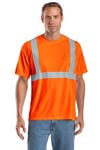; CornerStone; ANSI Class 2 Safety T Shirt. CS401