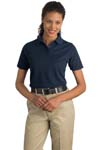 CornerStone; Ladies Industrial Pocketless Pique Polo. CS403