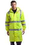 CornerStone; ANSI Class 3 Long Waterproof Rain Coat. CSJ23