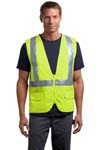 CornerStone; ANSI Class 2 Mesh Back Safety Vest. CSV405