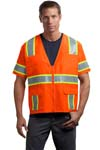 CornerStone; ANSI Class 3 Dual Color Safety Vest. CSV406