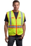 CornerStone; ANSI Class 2 Dual Color Safety Vest. CSV407
