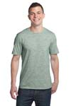 District; Young Mens Extreme Heather Crew Tee. DT1000
