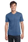 District; Young Mens Textured Notch Crew Tee. DT172