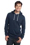 ; District; Young Mens Core Fleece Pullover Hoodie. DT191