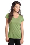 District; Juniors Slub V Neck Tee. DT240