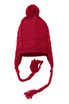 District; Cabled Beanie with Pom. DT617