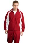 ; Sport Tek; 5 in 1 Performance Full Zip Warm Up Jacket. J712