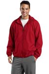 Sport Tek; Hooded Raglan Jacket. JST73