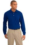 Port Authority; Rapid Dry Long Sleeve Polo. K455LS