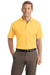 ; Port Authority; Textured Polo with Wicking. K499