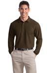 ; Port Authority; Long Sleeve Silk Touch Polo. K500LS