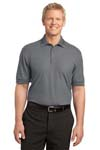 Port Authority; Silk Touch Tipped Polo. K502