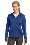 Sport Tek; Ladies Tech Fleece Full Zip Hooded Jacket. L248