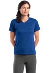 Sport Tek; Dri Mesh; Ladies V Neck T Shirt. L468V
