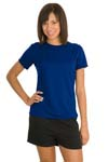 ; Sport Tek; Ladies Dry Zone Raglan Accent T Shirt. L473