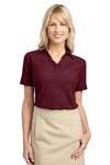 Port Authority; Ladies Silk Touch Piped Polo. L502