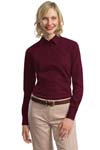 Port Authority; Ladies Tonal Pattern Easy Care Shirt. L613