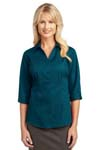 IMPROVED Port Authority; Ladies 3/4 Sleeve Blouse. L6290