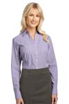 Port Authority; Ladies Plaid Pattern Easy Care Shirt. L639